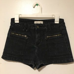 Forever 21 Acid Wash Denim Shorts